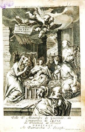 Gravura de Richard Collin, inserida na edição da Escola de Bethlem