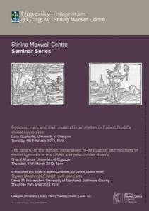 Stirling Maxwell Centre Seminar poster