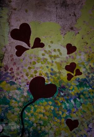 Rua das flores-coração.