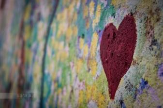 Encontrei lá o meu coração.