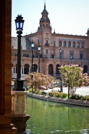 Plaza de España sara augusto 2