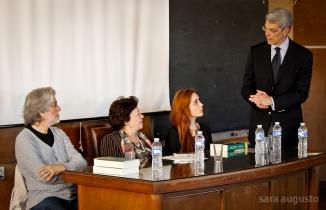 José Pedro Paiva, Pires Larangeira, Eugénia Neto e Ana T. Rocha